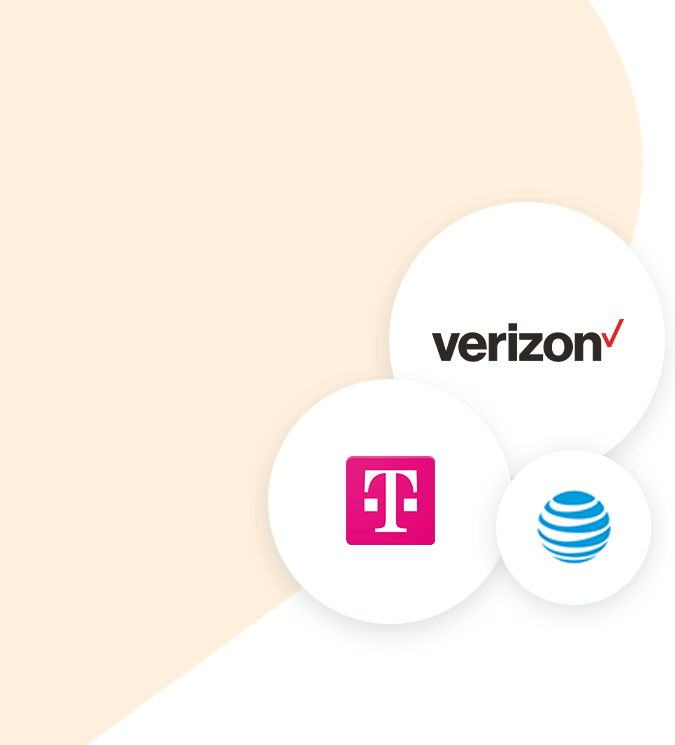 partner with several large Telecom carriers